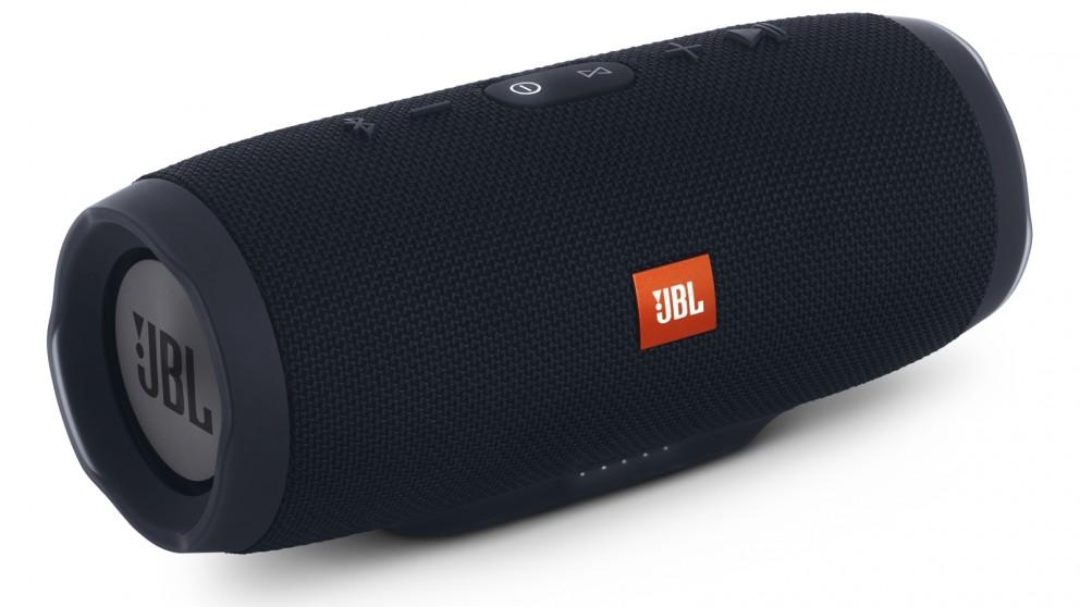 jbl charge 3 portable bluetooth speaker black portable speakers sound systems headphones. Black Bedroom Furniture Sets. Home Design Ideas