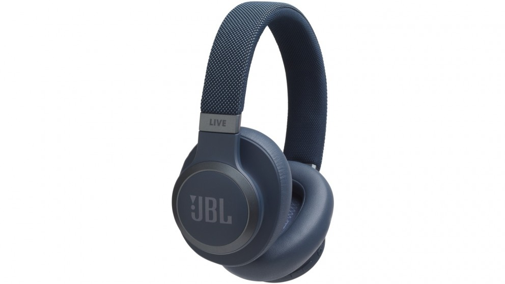 28d24f609f0 Buy JBL Live 650 Wireless Bluetooth Noise Cancelling Over-Ear Headphones -  Blue | Harvey Norman AU