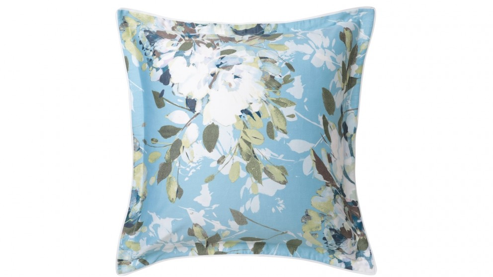 Jessica Blue European Pillowcase