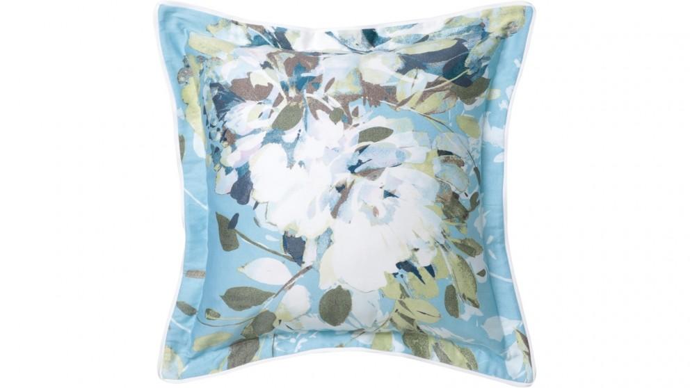 Jessica Blue Square Cushion