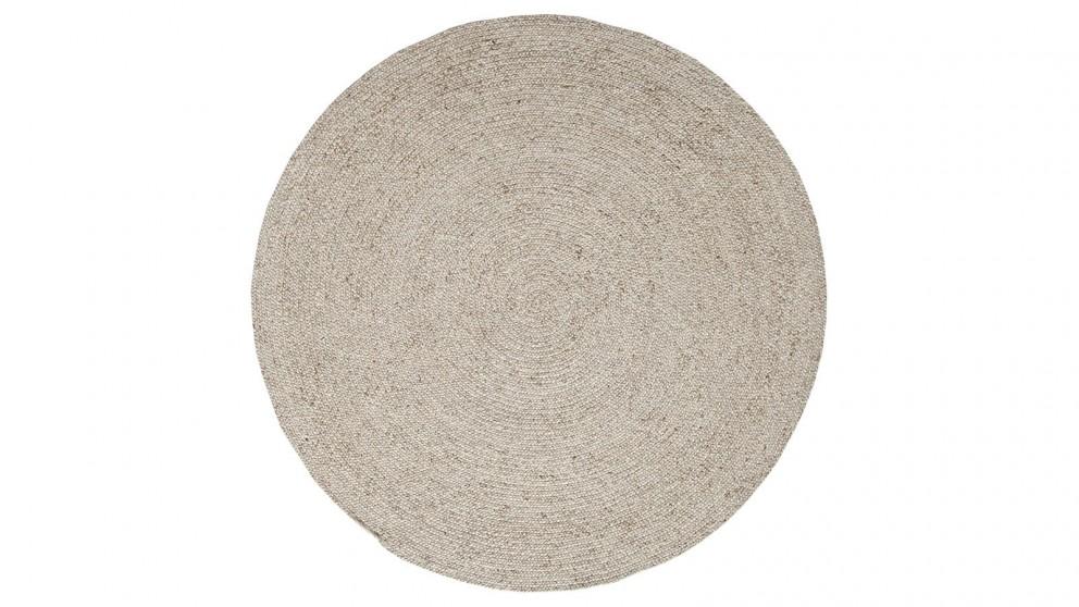 JH 1427 Beige Round Rug