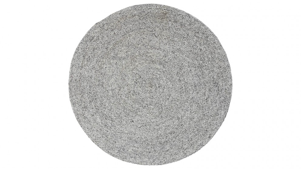 JH 1427 Silver Round Rug
