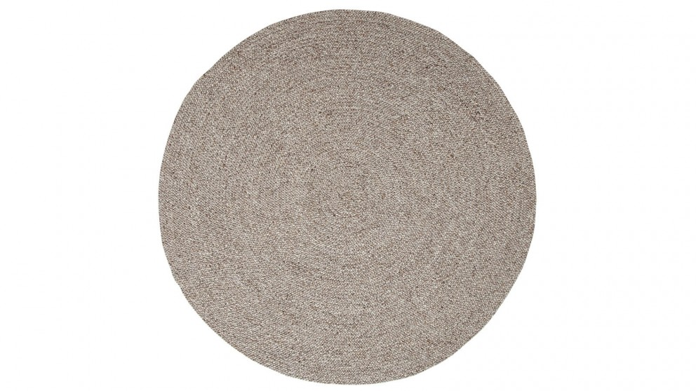 JH 1427 Taupe Round Rug