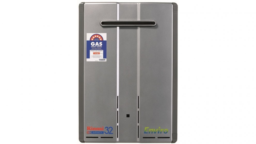 Rinnai Infinity Enviro 32 Continuous Flow Natural Gas Preset 60 Degrees Hot Water System