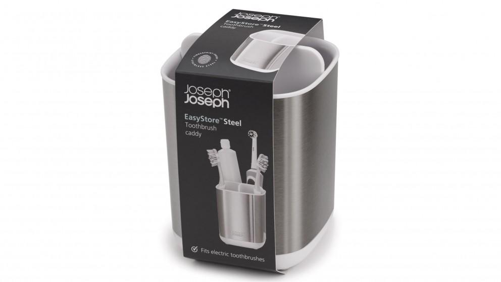 Joseph Joseph EasyStore Steel Toothbrush Holder