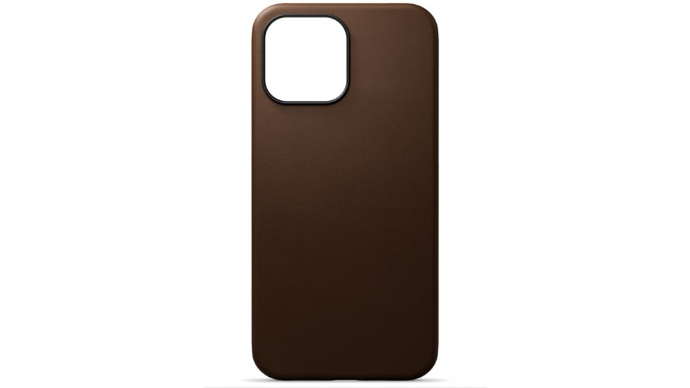 Journey Leather Case for iPhone 13 Pro Max - Dark Brown