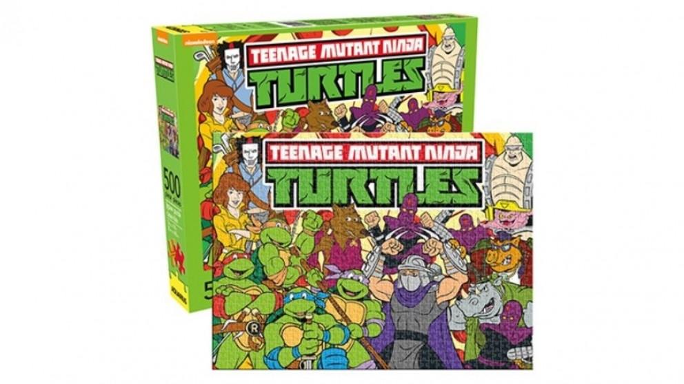 fce328a98 Buy Teenage Mutant Ninja Turtles 500-Pieces Puzzle | Harvey Norman AU