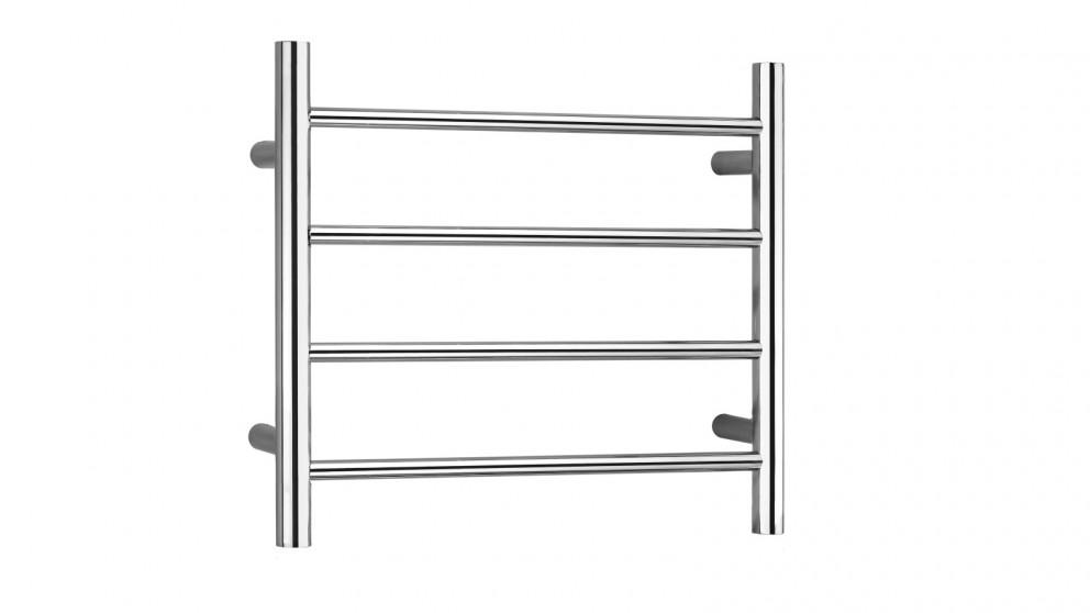 Linsol Allegra 4 Bar Heated Towel Rail - Chrome