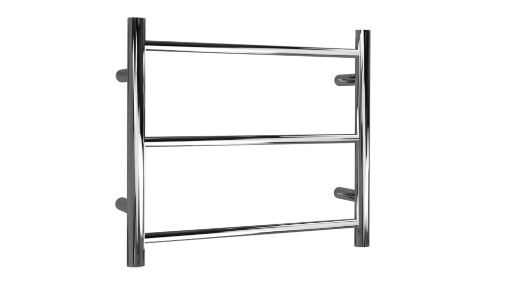 Linsol Avid Round 3 Bar Dual Wire Heated Towel Rail