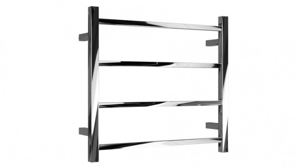 Linsol Spirit Square 4 Bar Dual Wire Heated Towel Rail