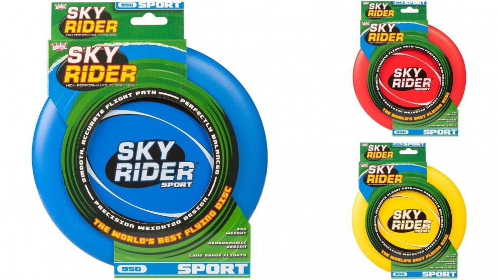 Wicked Sky Rider Sport Flying Disc Long Range and Light Weight
