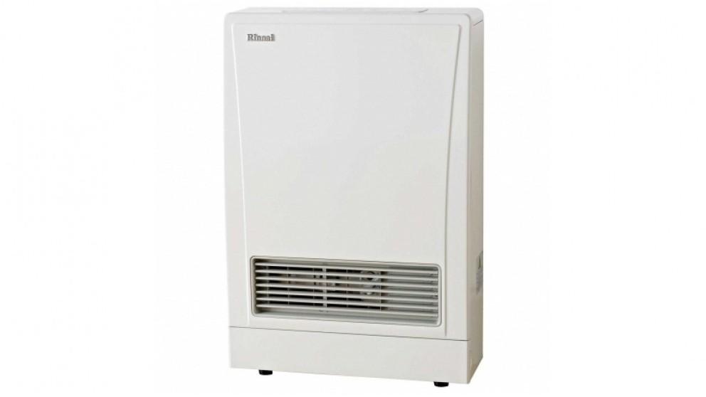 Rinnai EnergySaver 309FT Flued Gas Fan Heater - White