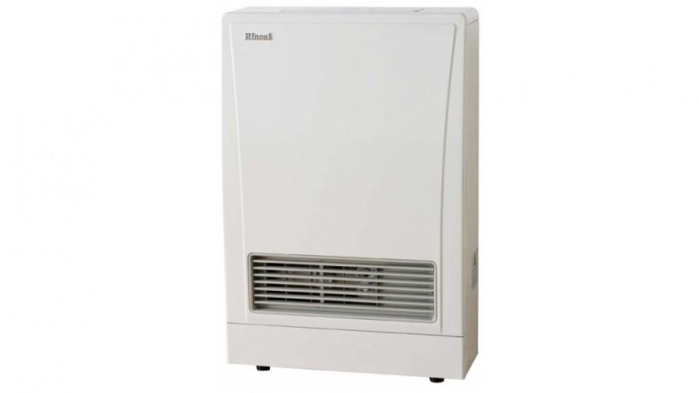 Rinnai EnergySaver 309FT Flued LPG Fan Heater - White