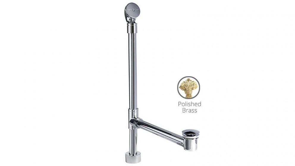 Victoria & Albert Kit 50 Pop-up Plug & Waste for Basin - Polished Brass