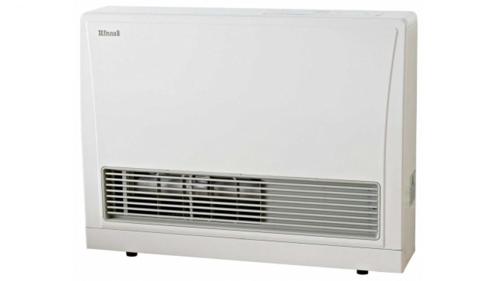 Rinnai EnergySaver 559FT Flued Natural Gas Fan Heater - White