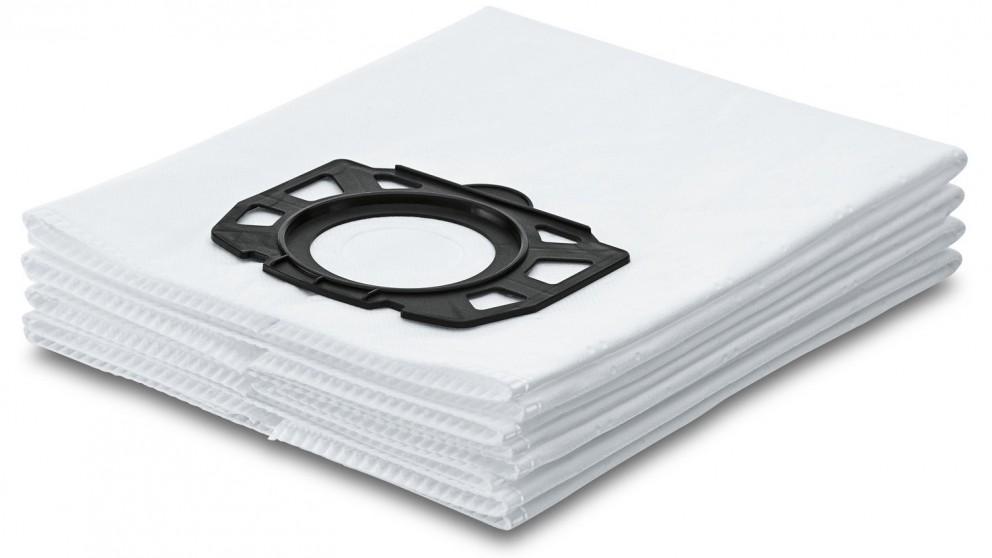 Karcher Pack of 4 WD4/5/6 Fleece Filter Vacuum Bag