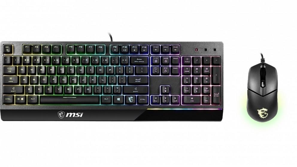 MSI Vigor GK30 Gaming Keyboard and Mouse Combo