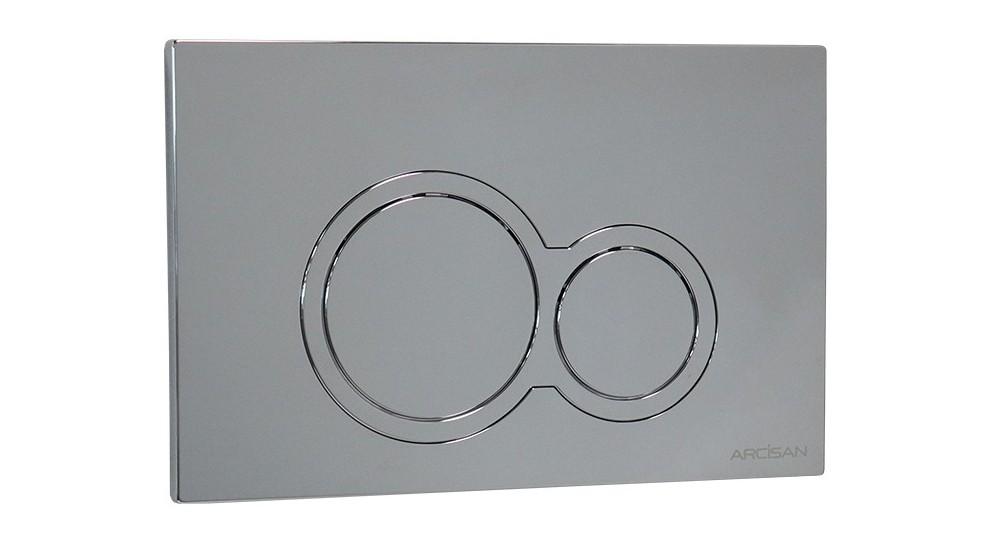 Arcisan Kibo Flush Plate - Chrome