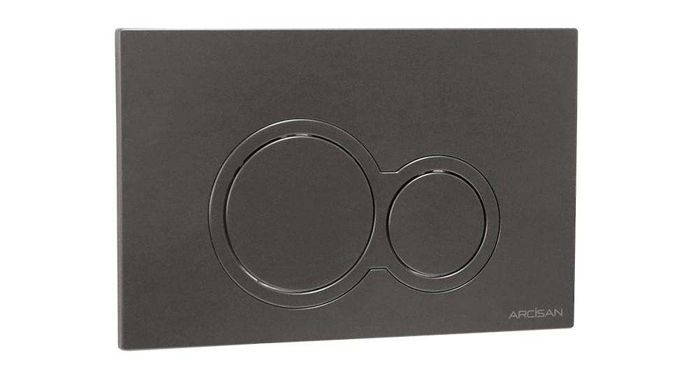Arcisan Kibo Flush Plate - Gunmetal