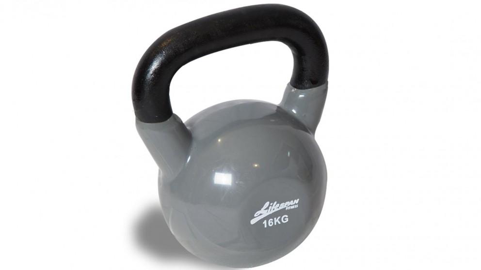 Lifespan Fitness Vinyl Kettlebells - 16kg