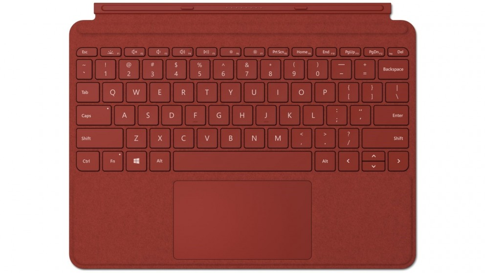 Microsoft Surface Go Signature Type Cover - Poppy Red (2020)