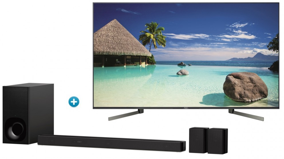 Sony 65-inch X95G 4K UHD LED LCD Smart TV with 5 1 Channel 4K HDR Soundbar