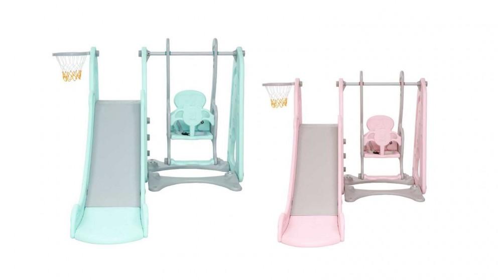 Keezi Kids Slide Swing Playground