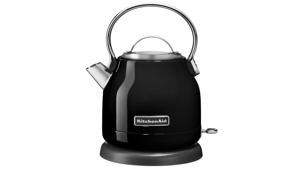 KitchenAid 1.25L Kettle - Onyx Black