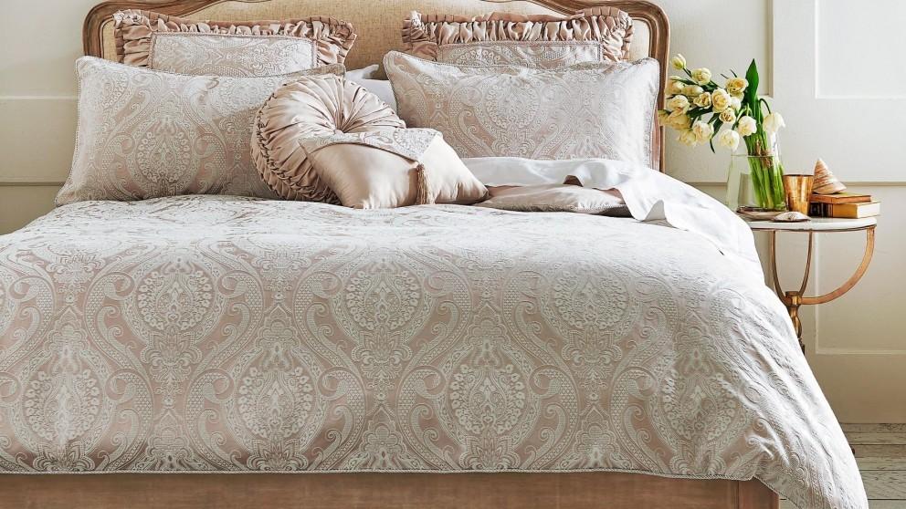 Kensington Taupe Quilt Cover Set