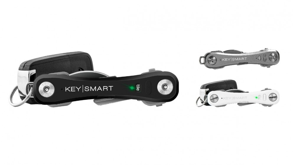 KeySmart Pro with Tile Smart Location fit 10 Keys