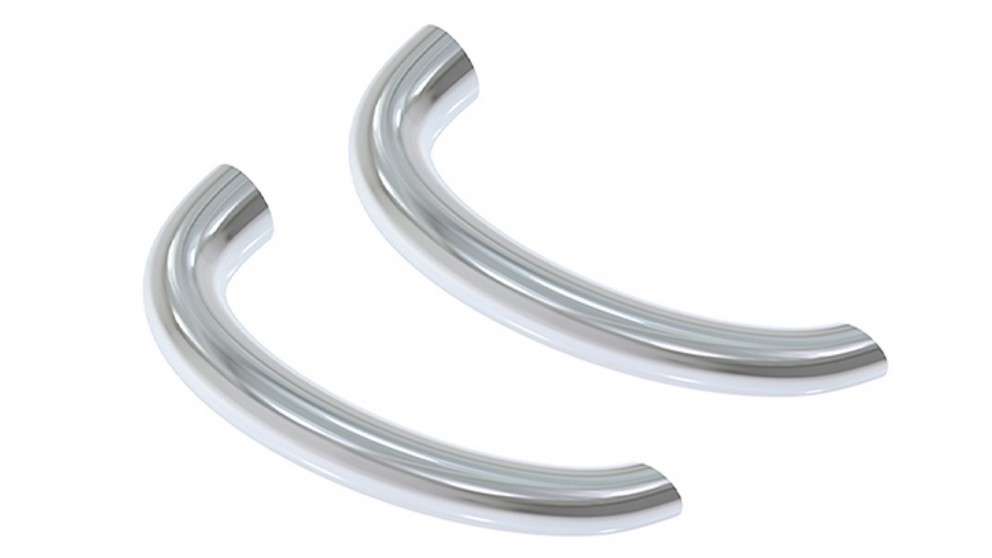 Victoria & Albert Set of Two Handle Support Kit for Baths - Chrome