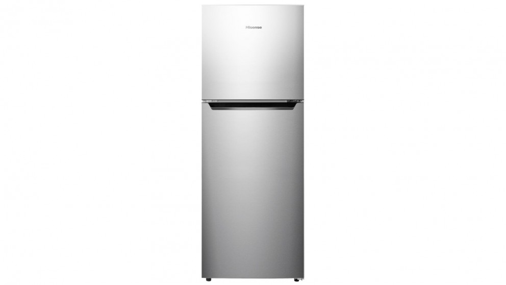 Hisense 230L Top Mount Frost Free Fridge - Stainless Steel