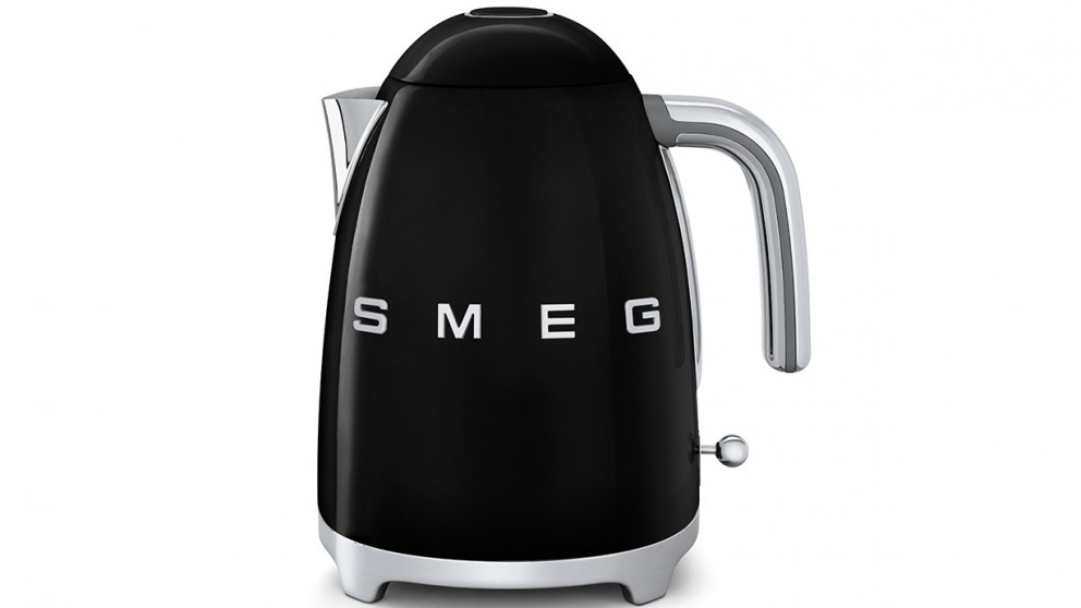 Smeg 50's Style Badged Kettle - Black