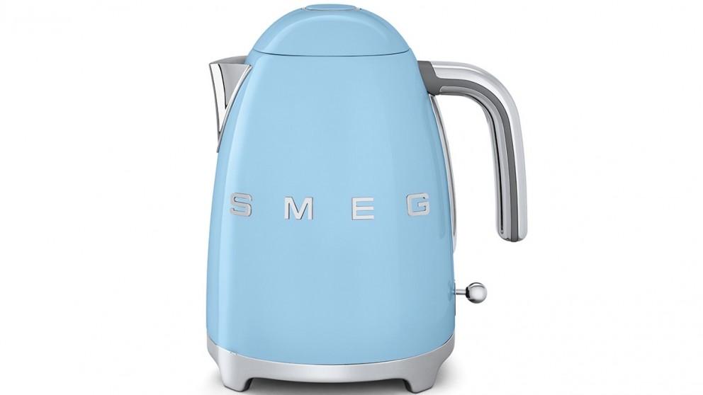 Smeg 50's Style Badged Kettle - Blue