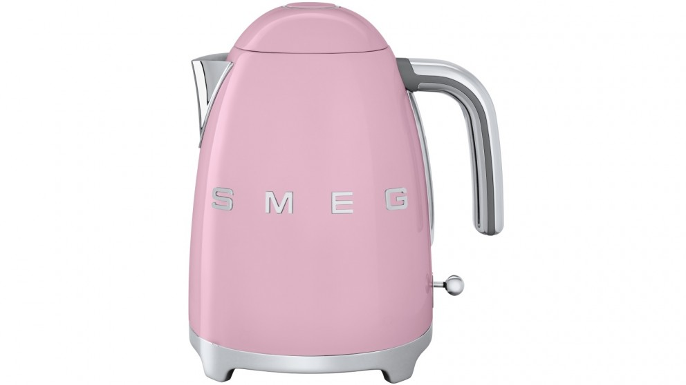 Smeg 1.7L Electric Kettle - Badged Pink