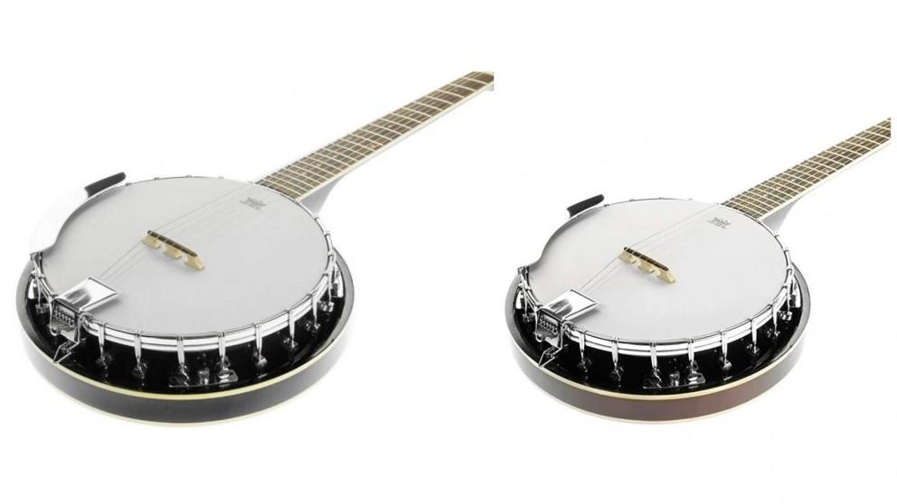 Karrera 6 String Resonator Banjo