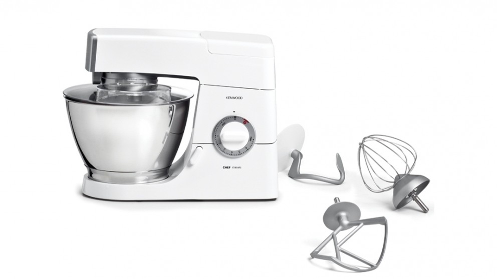 Kenwood 4.6L Chef Classic Mixer - White