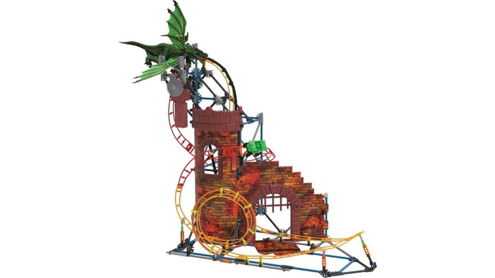 K'Nex Dragon Revenge Roller Coaster Building Set