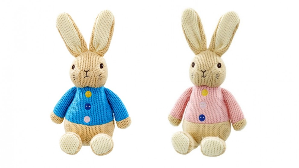 Beatrix Potter Soft Toy Made with Love Knit