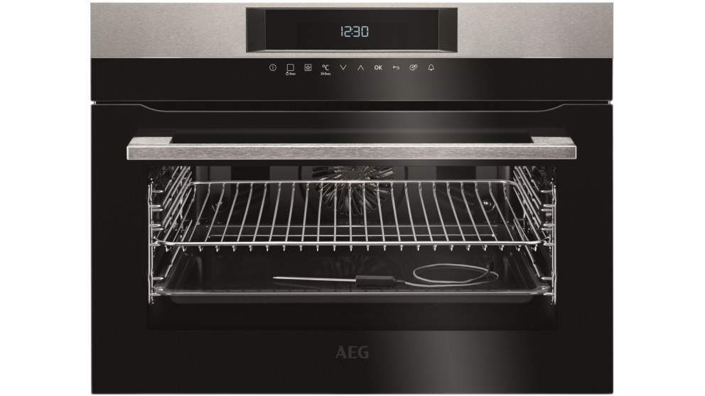 AEG 450mm SenseCook Compact PyroLuxe Oven