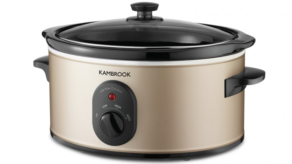 Kambrook World of Flavours 4.5L Slow Cooker
