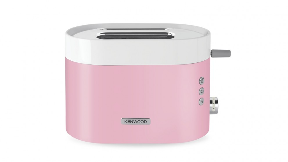 Kenwood KSense 2 Slice Toaster - White/Pink