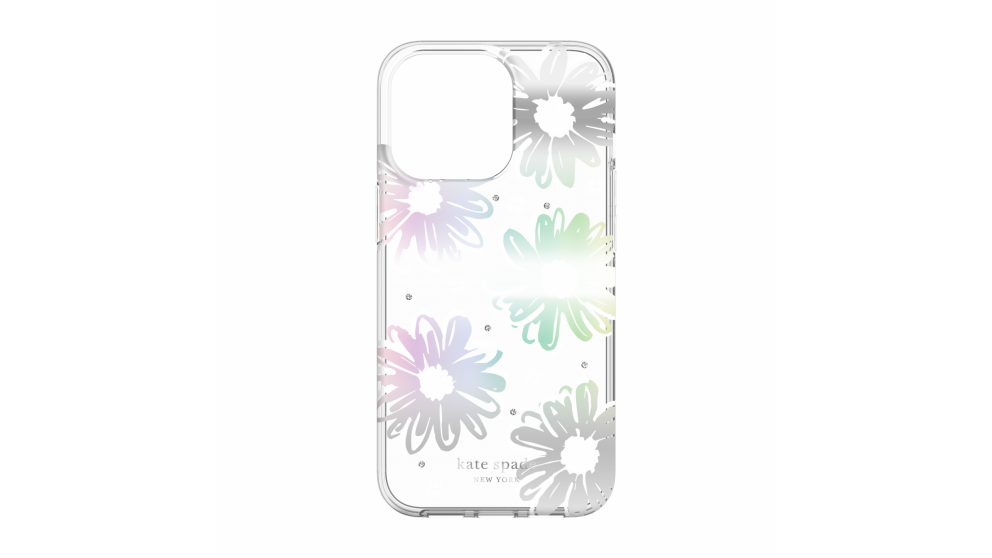Kate Spade New York Case for iPhone 13 Pro - Daisy Iridescent