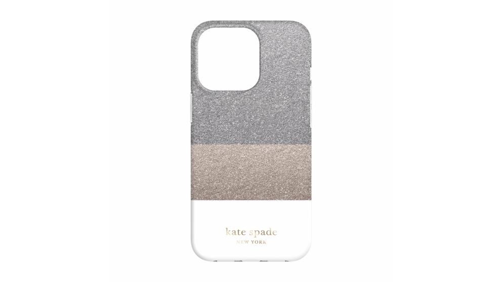 Kate Spade New York Case for iPhone 13 Pro - Glitter White