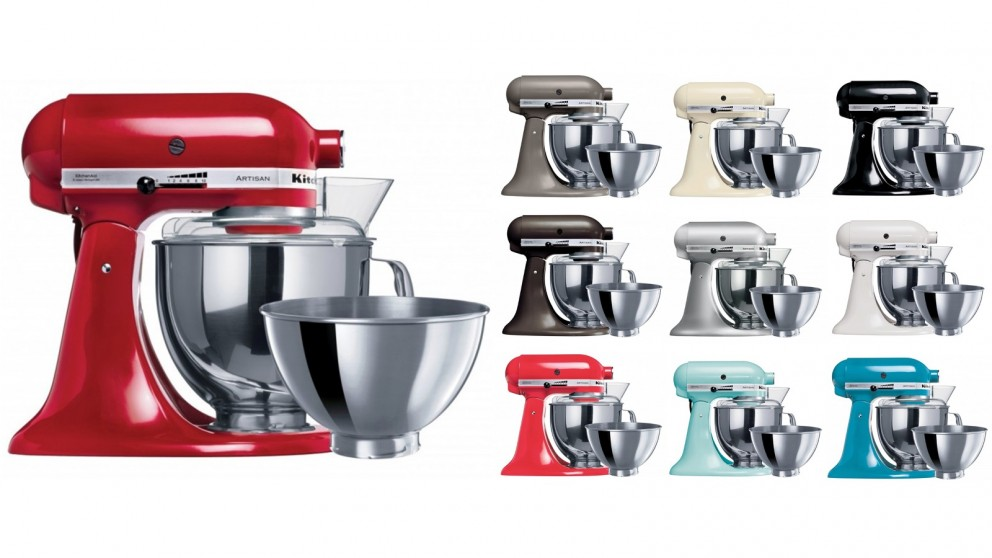 kitchenaid ksm160 artisan stand mixer mixers food. Black Bedroom Furniture Sets. Home Design Ideas