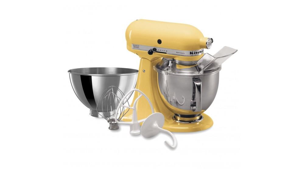 01:04. KitchenAid KSM160 Artisan Stand Mixer   Majestic Yellow