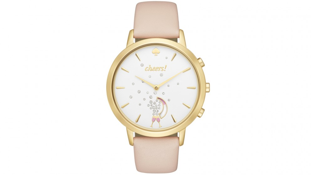 Kate Spade New York Metro Connected Watch - Gold/Beige