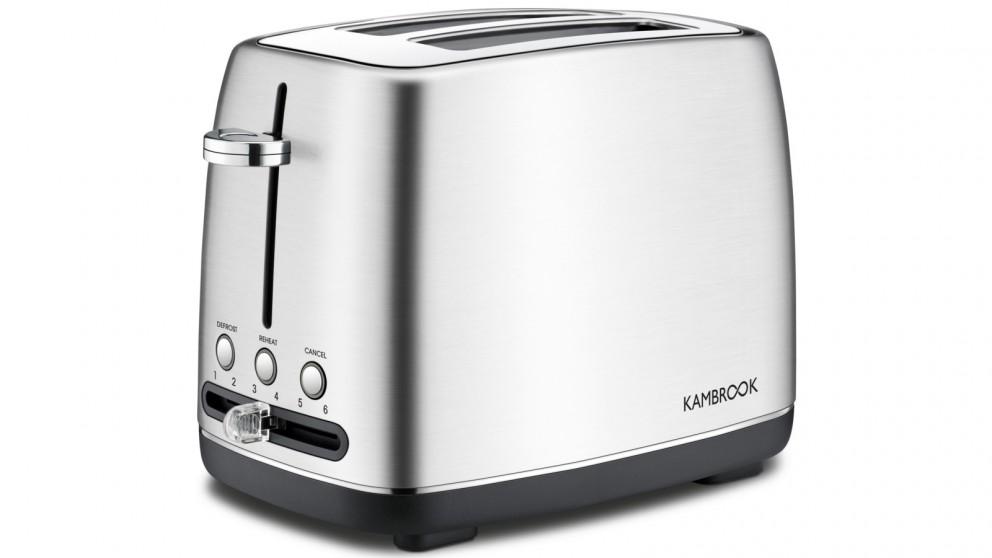 Kambrook 2 Slice Stainless Steel Toaster