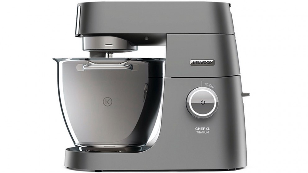 buy kenwood chef xl titanium mixer silver harvey norman au. Black Bedroom Furniture Sets. Home Design Ideas