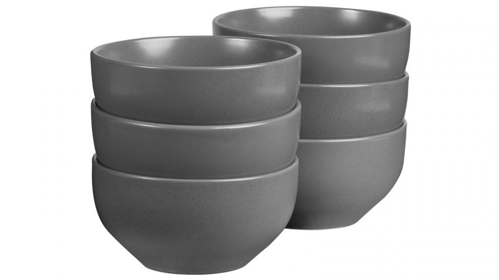 Cooper & Co. 13cm Mari Bowl Charcoal - Set of 6